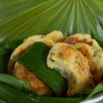 Galettes de fruits à pain (uru')(vegan, sans gluten).
