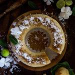 Gâteau manioc et coco, une recette vegan et sans gluten.