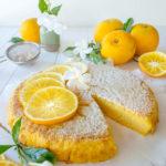 Gâteau patate à l'orange, une gourmandise très fondante (vegan, sans gluten).