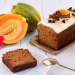 Cake à la papaye façon carrot cake (recette vegan et sans gluten).