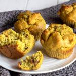 Muffins à la banane fei ou plantain (recette vegan, sans gluten).