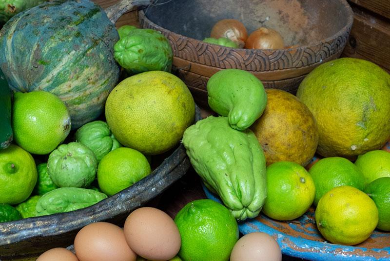 Christophines et autres légumes exotiques
