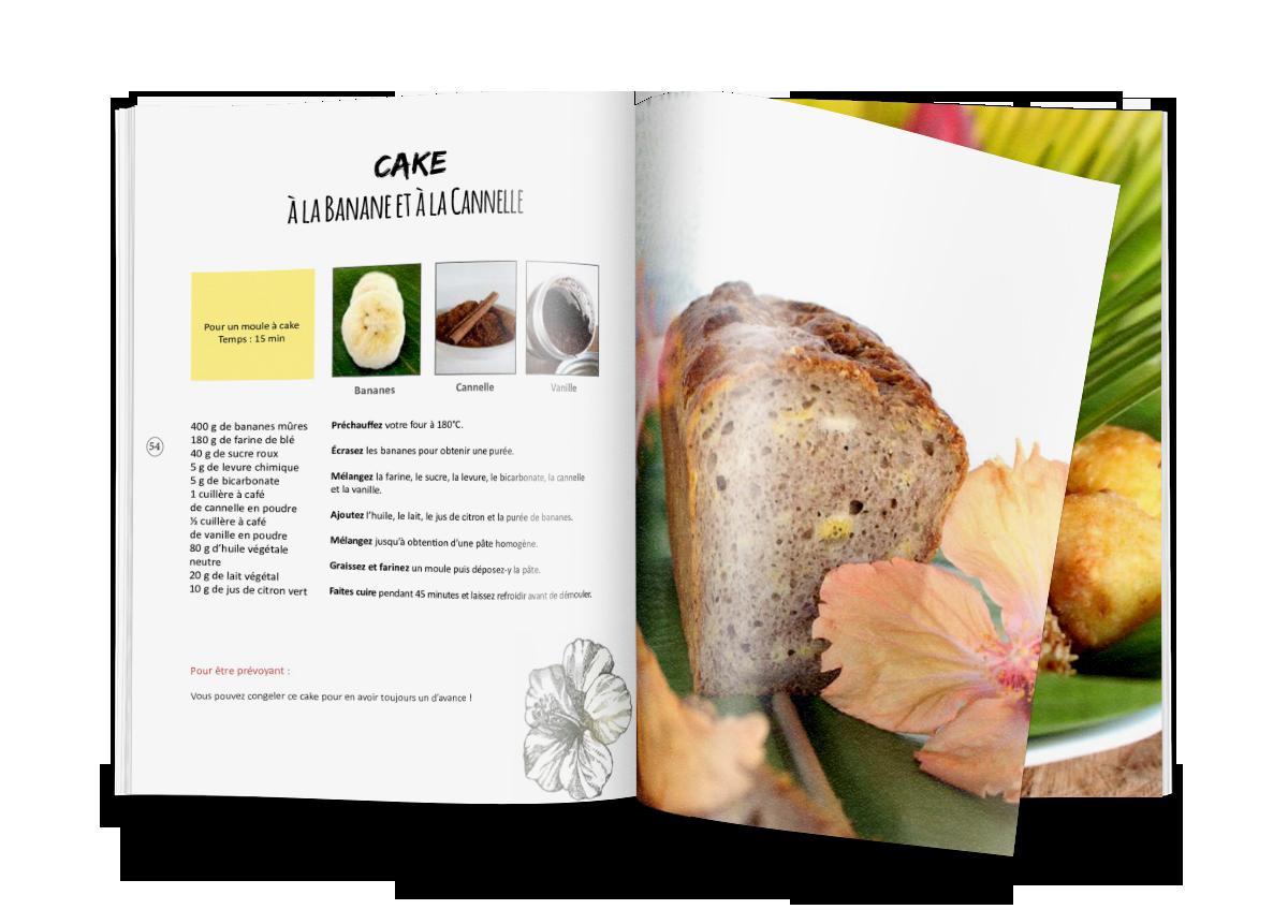 Livre de cuisine végétale : Vegan à Tahiti, 25 recettes faciles.